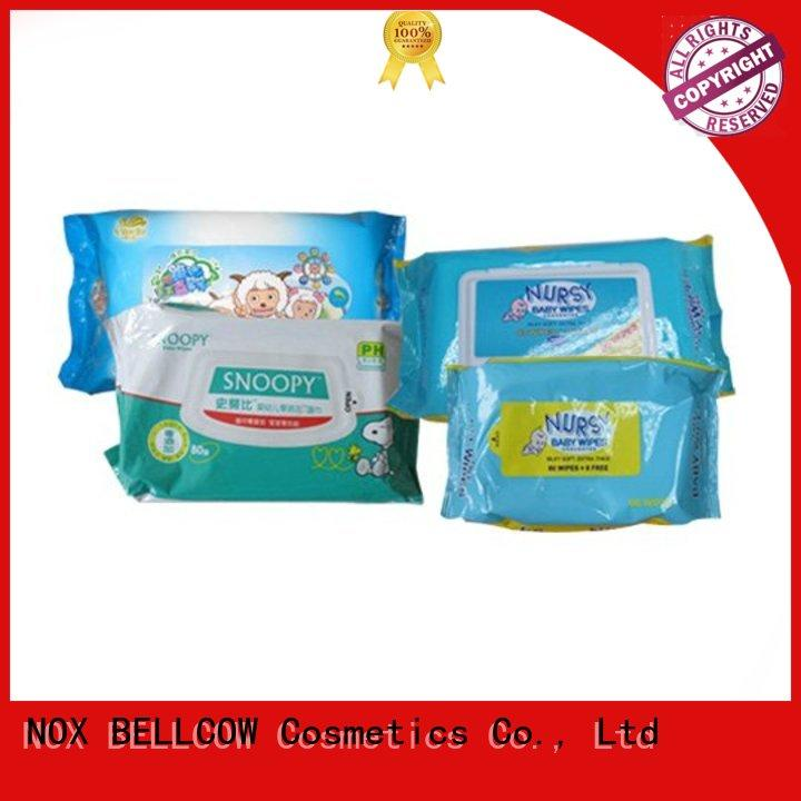 hand baby biodegradable baby wipes wipe special NOX BELLCOW Brand