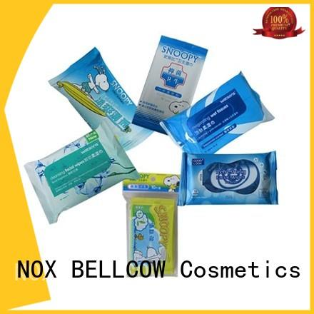 NOX BELLCOW green tea best cleansing wipes manufacturer for hand