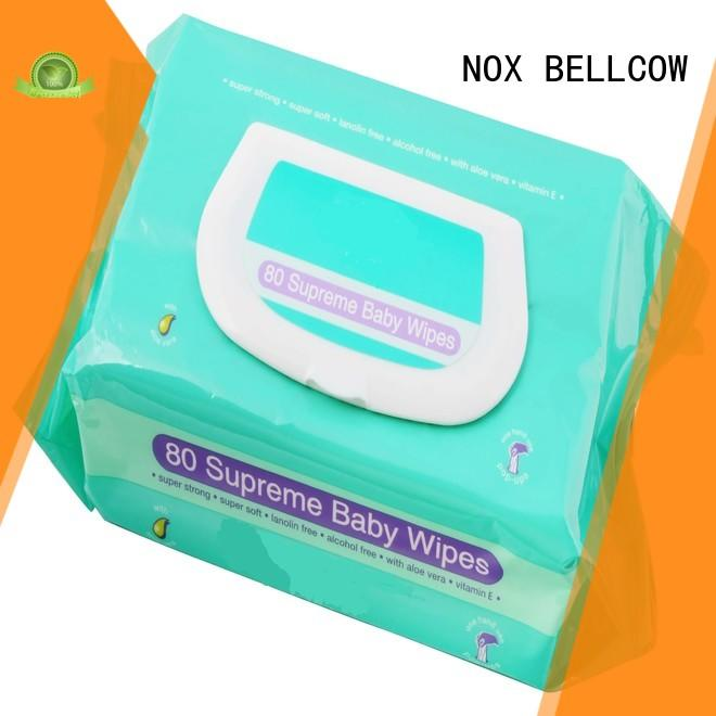 NOX BELLCOW tender best baby wipes supplier for skincare
