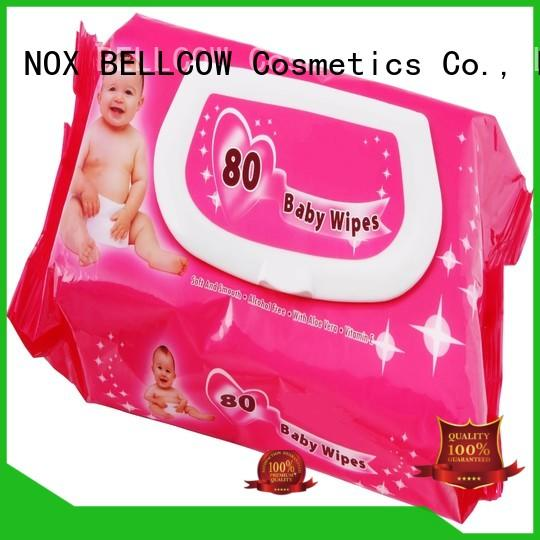NOX BELLCOW handmouth simple baby wipes manufacturer