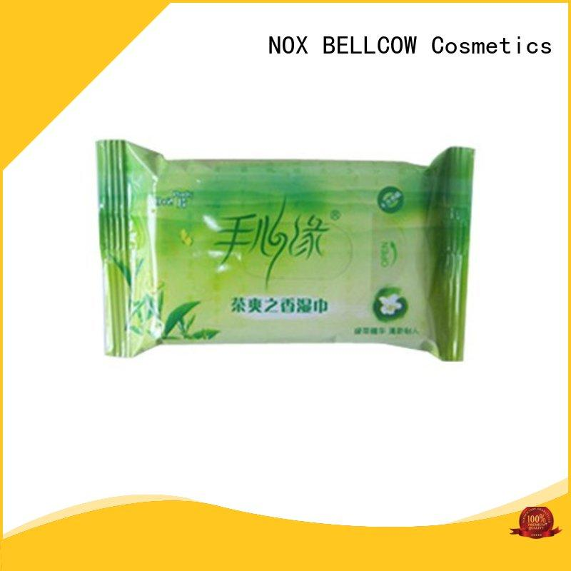 NOX BELLCOW wet cleansing wipes wholesale for hand