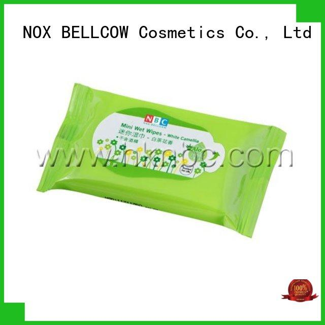 NOX BELLCOW scented best facial cleansing wipes manufacturer for hand