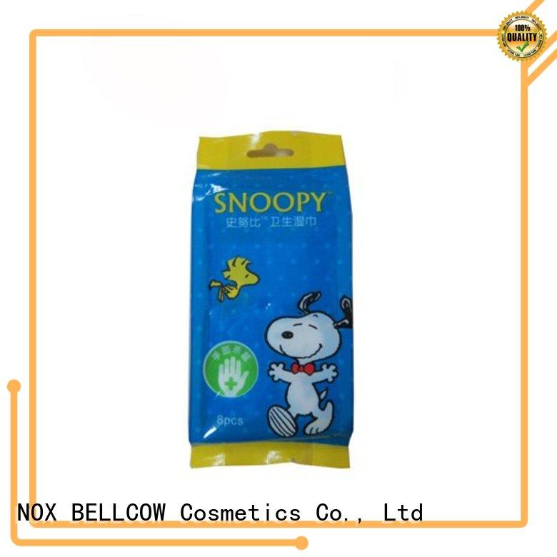 NOX BELLCOW green tea oil cleansing wipes supplier for face