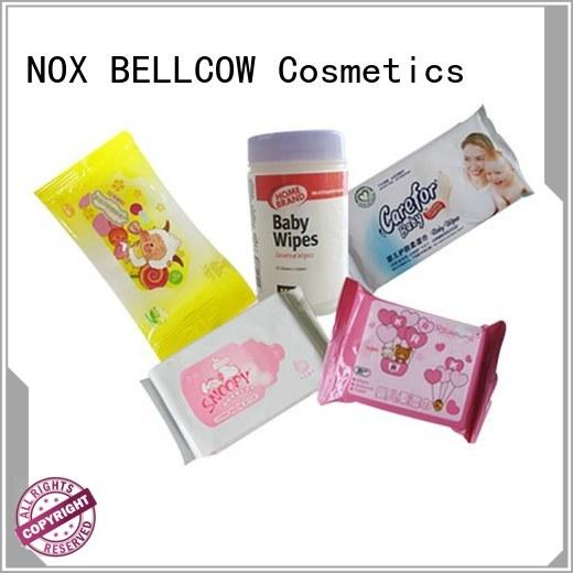 NOX BELLCOW cotton parents choice baby wipes manufacturer for body