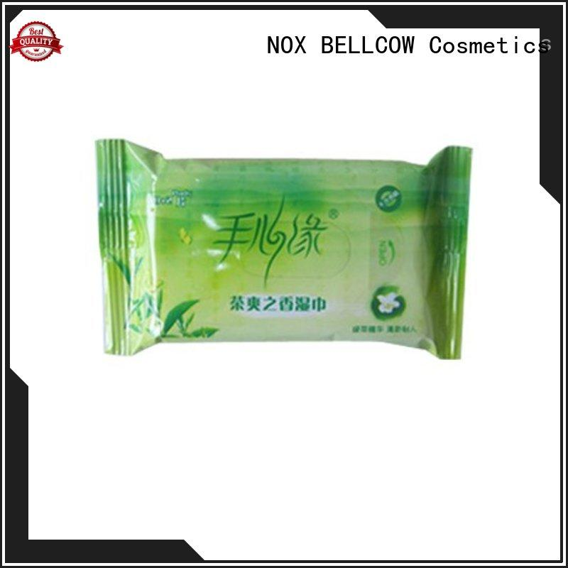 NOX BELLCOW facial men's cleansing wipes manufacturer for adult