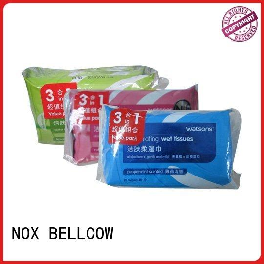 NOX BELLCOW cleaning best cleansing wipes wholesale for man