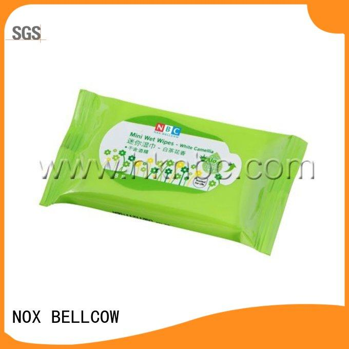 NOX BELLCOW green best facial cleansing wipes wholesale for women