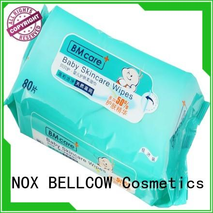 NOX BELLCOW moisturizing natural baby wipes wholesale for skincare