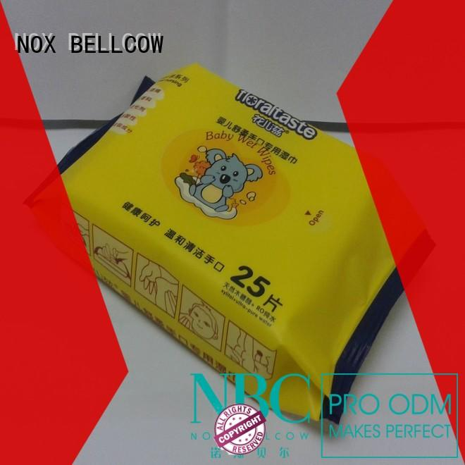pure nice n clean baby wipes series for hand NOX BELLCOW