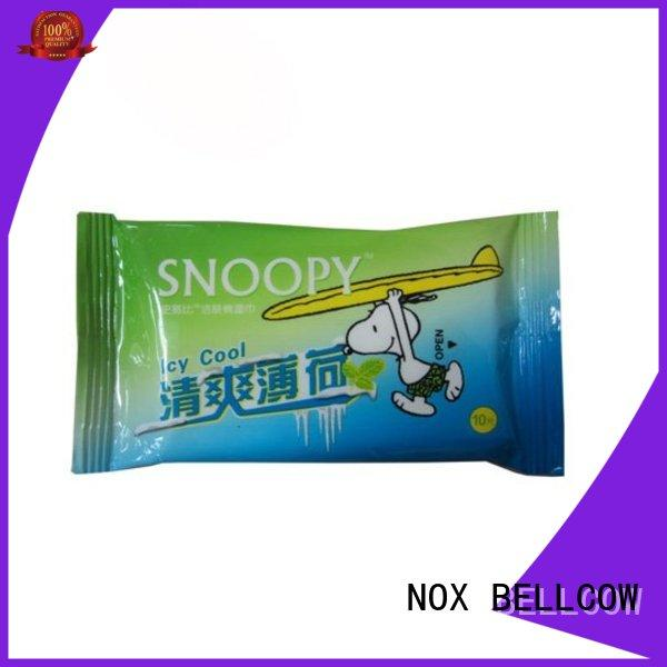 NOX BELLCOW green tea best cleansing wipes factory for adult