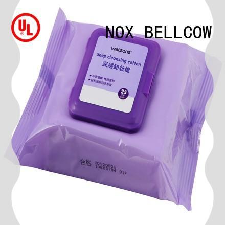 NOX BELLCOW eyelash makeup wipes for sensitive skin factory for face