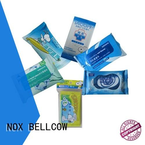 NOX BELLCOW cooling oil cleansing wipes factory for face