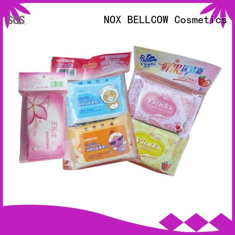 NOX BELLCOW 10s facial cleansing wipes manufacturer for face