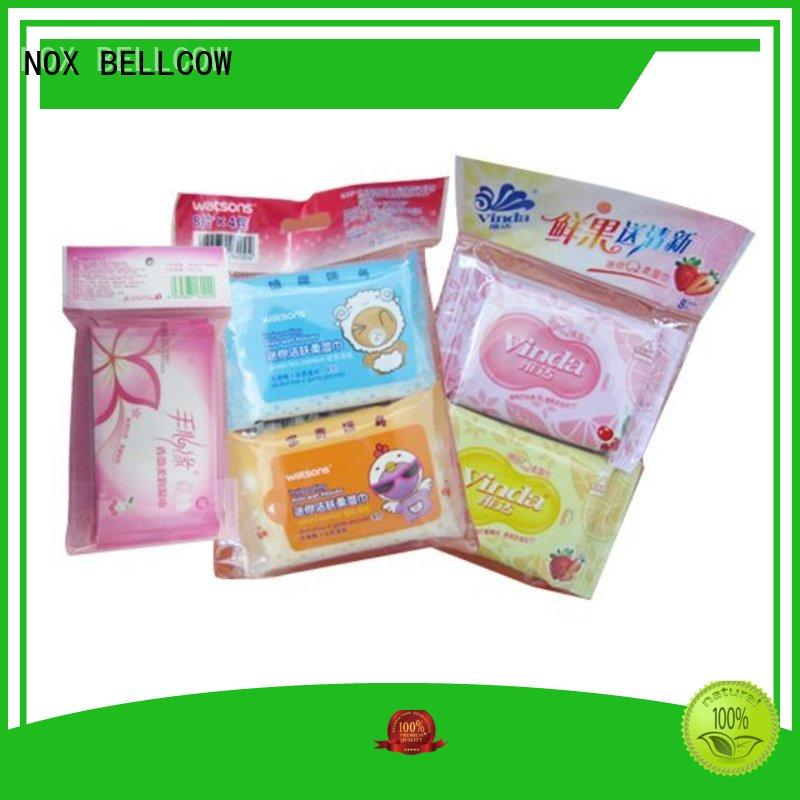 NOX BELLCOW individual cleansing wipes for sensitive skin facial for adult