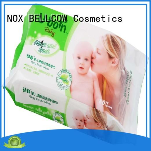 NOX BELLCOW cotton baby face wipes wholesale