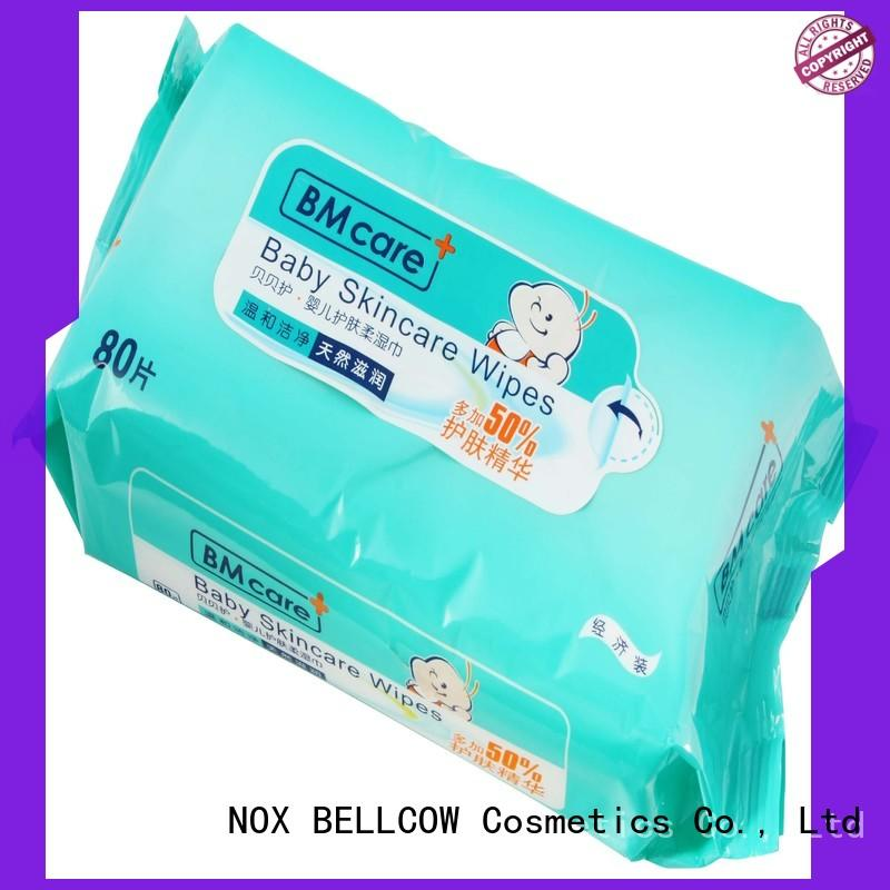 NOX BELLCOW moisturizing best natural baby wipes series