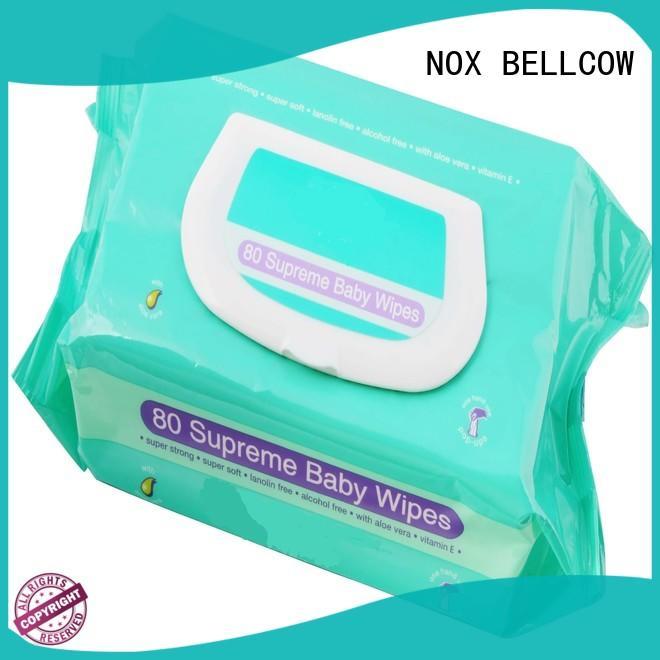 NOX BELLCOW free newborn baby wipes wholesale for ladies