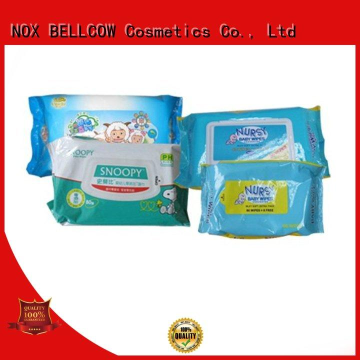 NOX BELLCOW Brand baby lid wipes biodegradable baby wipes