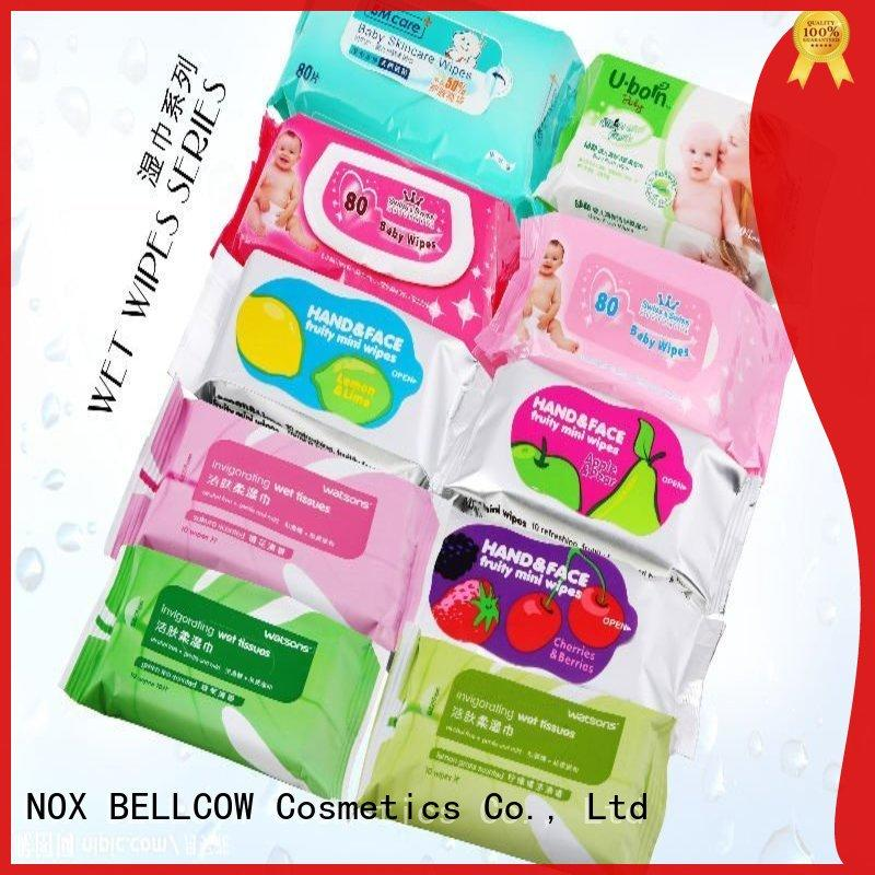 refreshing men's facial cleansing wipes scented supplier for women