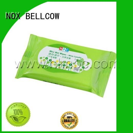 acne cleansing wipes green individual NOX BELLCOW Brand