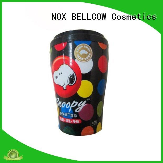 NOX BELLCOW scented men's cleansing wipes factory for ladies