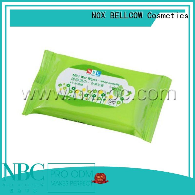 individual best face cleaning wipes wholesale for hand NOX BELLCOW