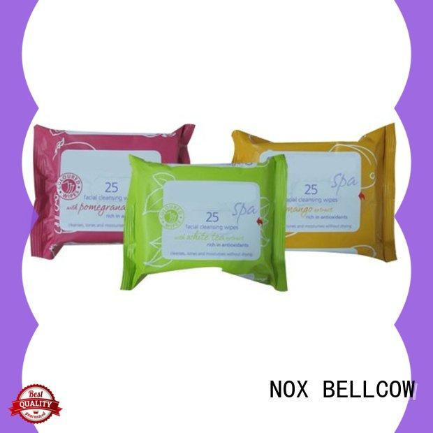 NOX BELLCOW tissues men's cleansing wipes manufacturer for hand