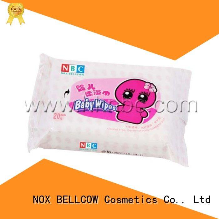 NOX BELLCOW tender pure baby wipes supplier