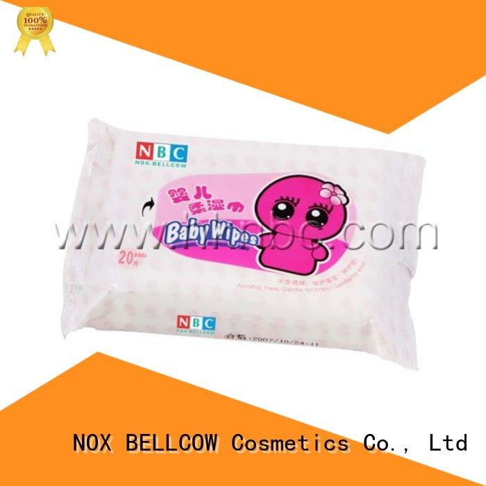 NOX BELLCOW tender pure baby wipes supplier