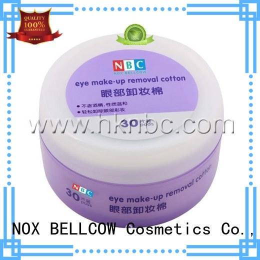 tencel fiber individual makeup wipes manufacturer for face