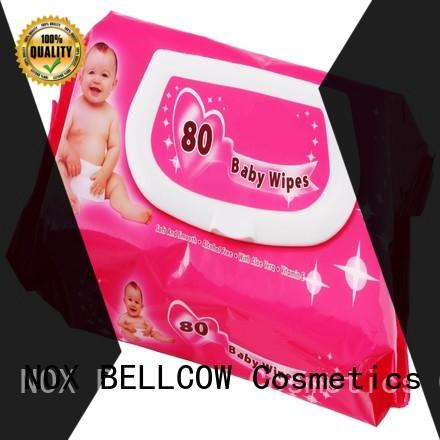 NOX BELLCOW vitamin E best natural baby wipes series for body