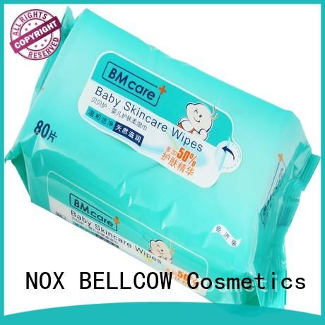 NOX BELLCOW tender best natural baby wipes series for body