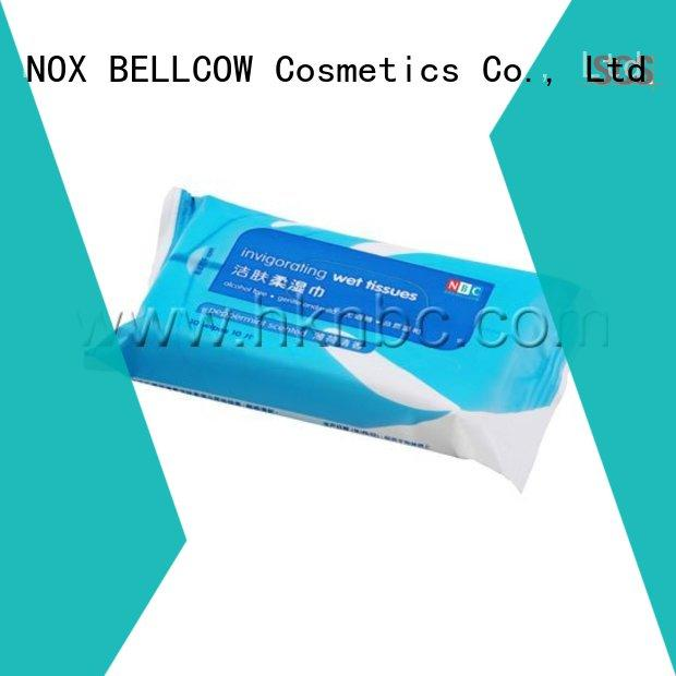 NOX BELLCOW adult facial cleansing wipes supplier for ladies