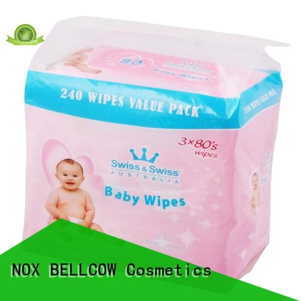 NOX BELLCOW handmouth best natural baby wipes manufacturer for skincare