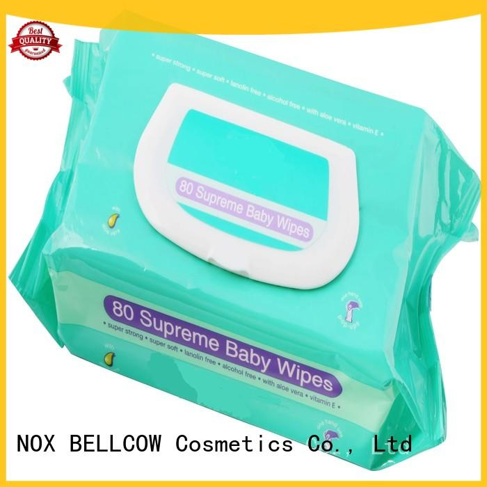 NOX BELLCOW handmouth baby wet wipes factory