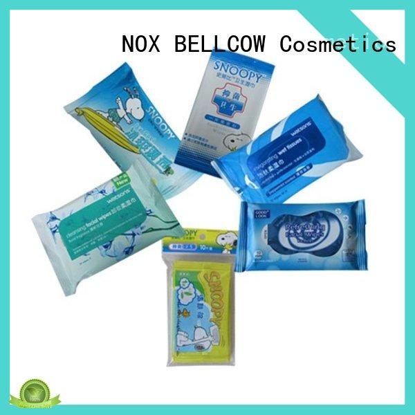 NOX BELLCOW scented facial cleansing wipes manufacturer for ladies