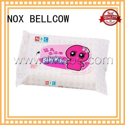 NOX BELLCOW free newborn baby wipes supplier for infant