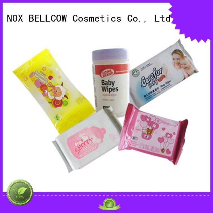 baby water wipes handmouth NOX BELLCOW