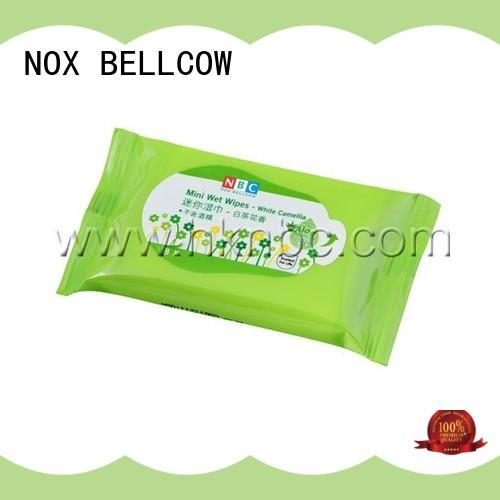 NOX BELLCOW tissues facial cleansing wipes manufacturer for adult
