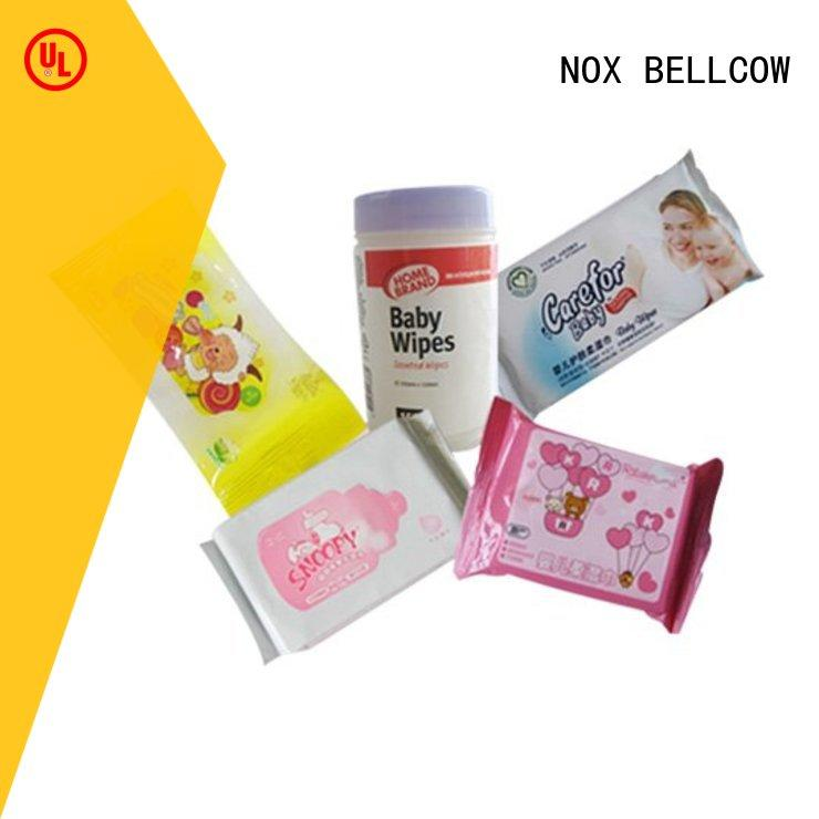 NOX BELLCOW wet pure baby wipes manufacturer