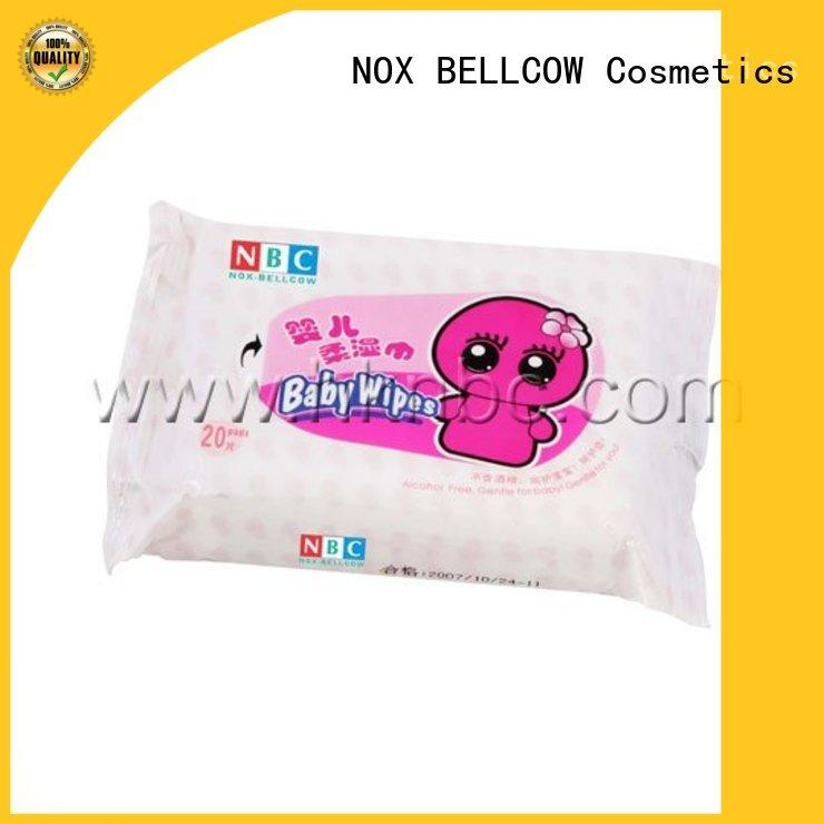 NOX BELLCOW vitamin E newborn baby wipes supplier for skincare