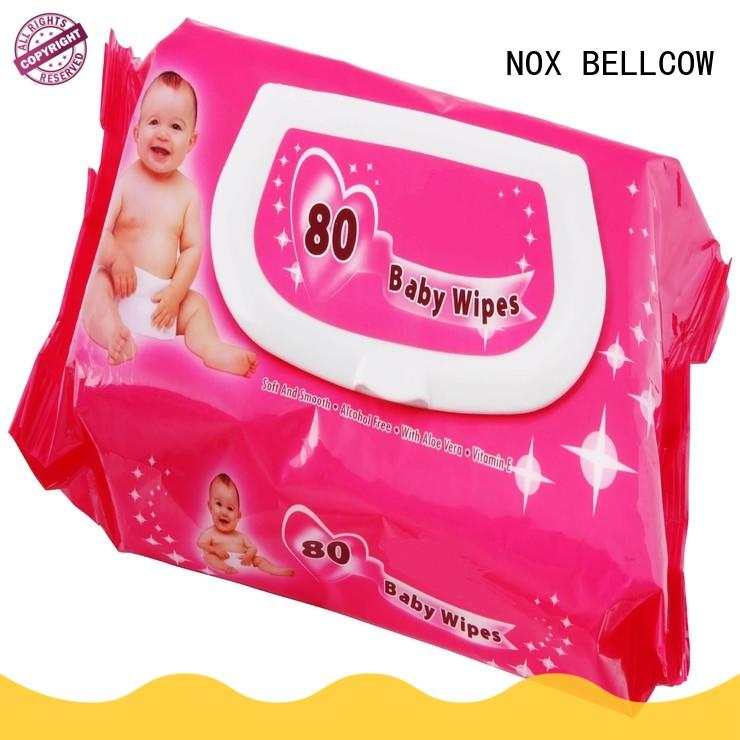 NOX BELLCOW wet baby wet wipes supplier for body
