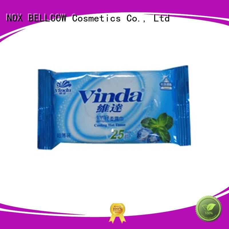 Hot wipes facial cleansing wipes mini wipe NOX BELLCOW Brand