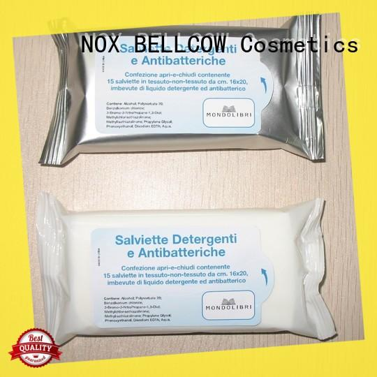 NOX BELLCOW wet men's facial cleansing wipes manufacturer for hand