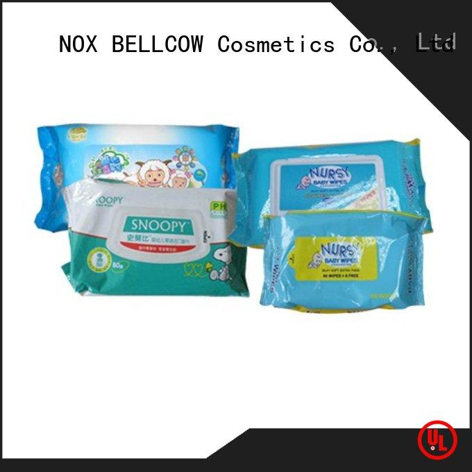 NOX BELLCOW wipespecial antibacterial baby wipes supplier for hand