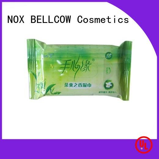 NOX BELLCOW mans men's cleansing wipes supplier for skincare