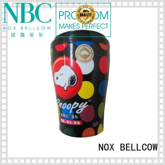 NOX BELLCOW oil control skin cleansing wipes cooling for adult