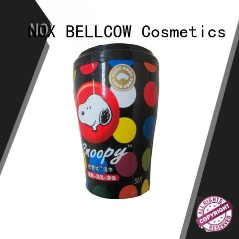 NOX BELLCOW individual oil cleansing wipes manufacturer for skincare