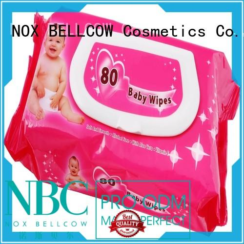 cotton baby wipes for face manufacturer for body NOX BELLCOW