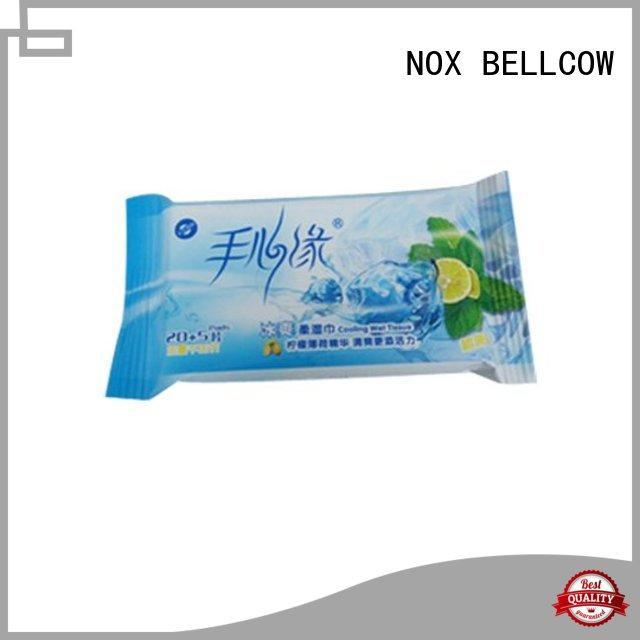 NOX BELLCOW oil control men's facial cleansing wipes supplier for women